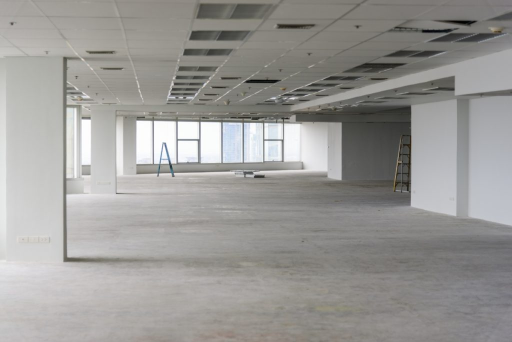 image of a renovated office